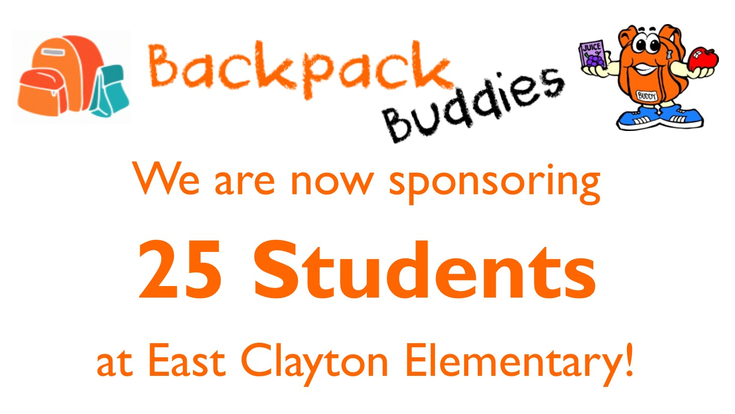 backpack buddies news