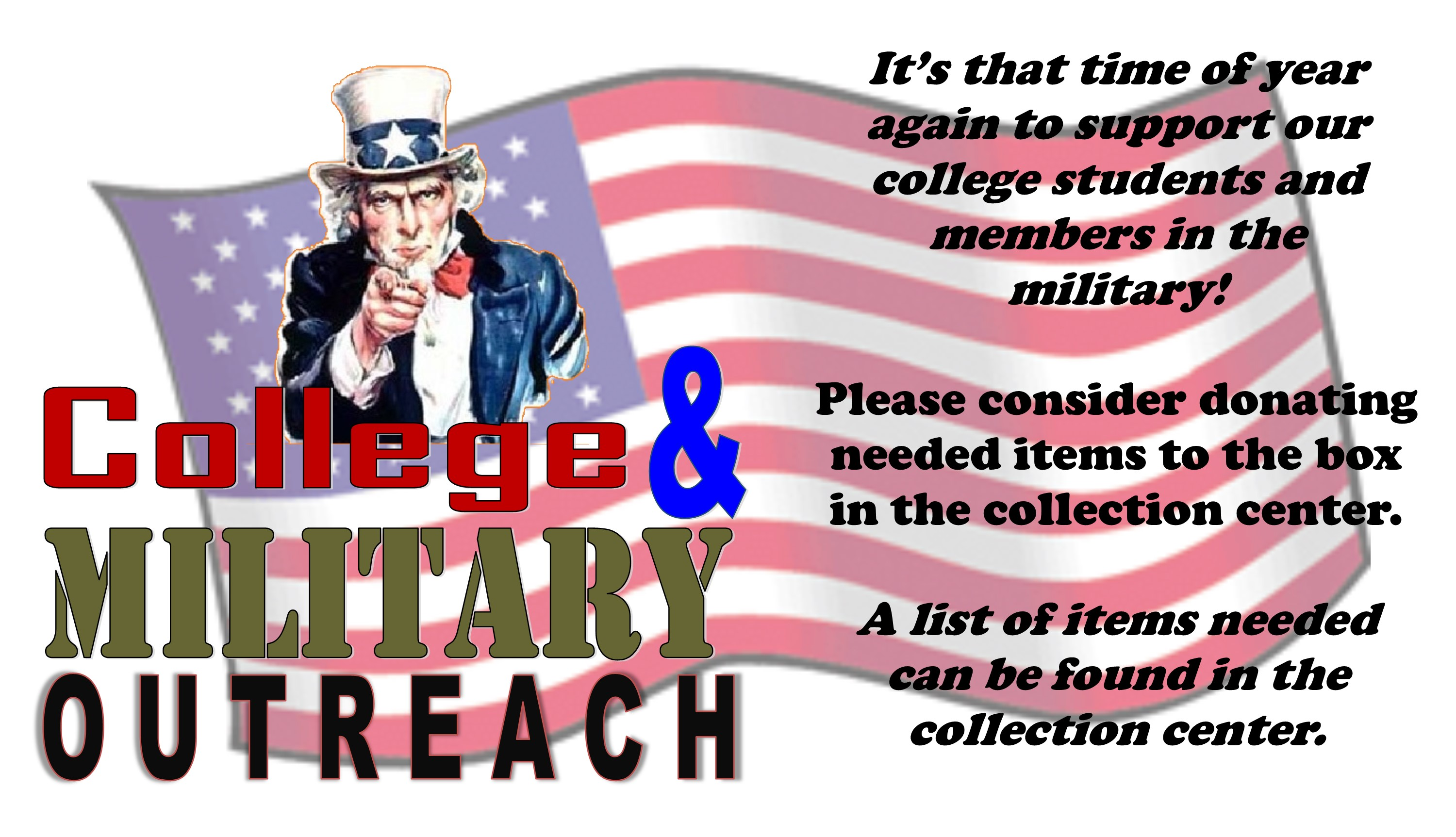 College and Military Outreach